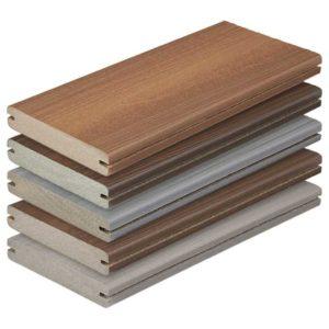 NewTechWood QD-PK-TK UltraShield Peruvian Composite Quick Deck Tile