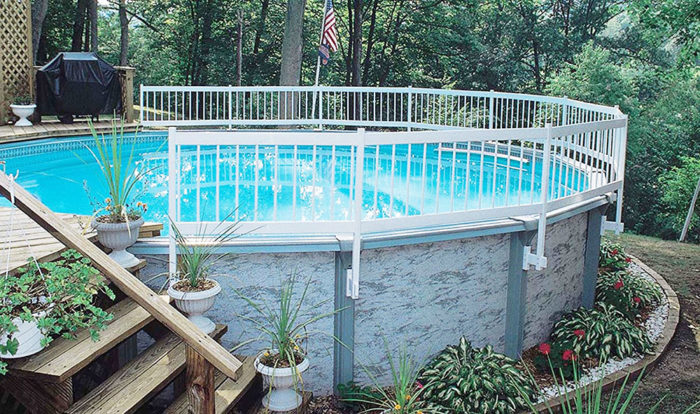GLI Above Ground Pool Fence