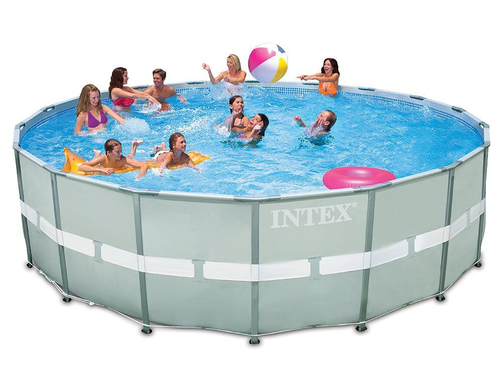 Intex 18ft X 52in Ultra Frame Pool Set - Simply Fun Pools
