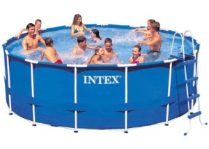 Intex 24ft X 12ft X 52in Ultra Frame Pool Set