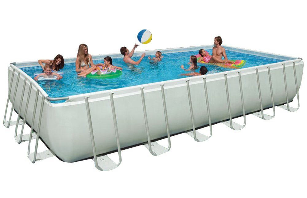 Intex 24ft X 12ft X 52in Ultra Frame Pool Set - Simply Fun Pools
