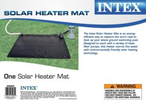 Intex Solar Heater Mat for Above Ground Pools