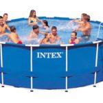 Intex 24ft X 12ft X 52in Ultra Frame Pool Set