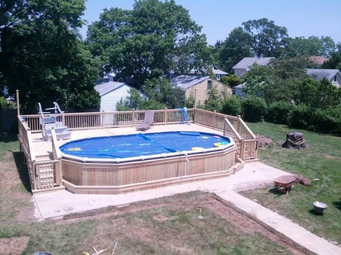 Oval Above Ground Pool