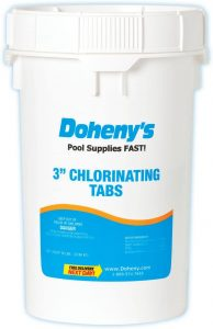 Doheny's Pool Chlorine Tablets