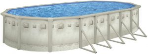 "Cornelius 18x33' Oval Millenium Above Ground Pool with 52"" Wall"
