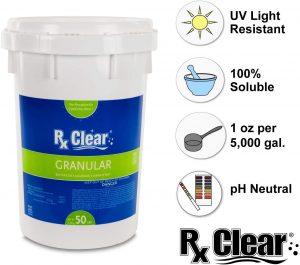 Rx Clear Granular Chlorine – Premium Choice
