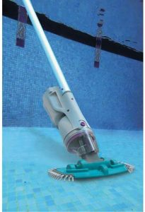 Kokido EV30CBX Telsa 30 Telescopic Rechargeable Electric Pool Spa Vacuum Cleaner with Removable Filter