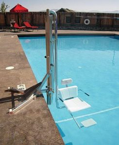 Spectrum 27336 Gallatin Water Powered Pool Lift