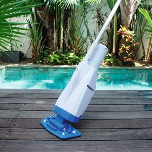 Bestway 58422E-BW Aqua Powercell Handheld Pool Vacuum with Rechargeable Battery