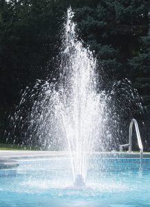 Ocean Blue Water Products Grecian Swimming Pool Fountain