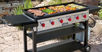 9 Best Outdoor Gas Griddles and Flat Top Grills Review Guide For 2021-2022