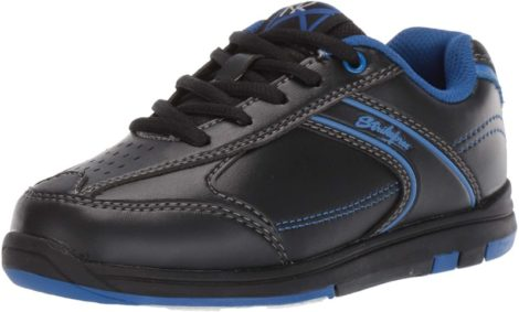 KR Strikeforce White/Blue Youth Girls Gem Bowling Shoes