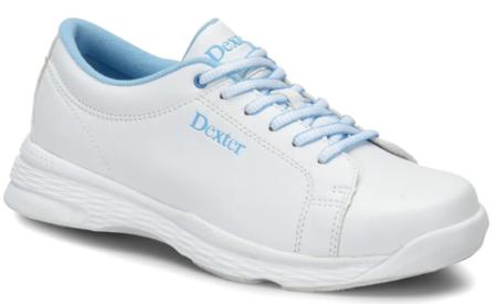 Dexter Girls Raquel V Jr White/Blue Bowling Shoes