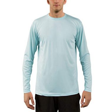 Vapor Appeal Men's Performance Long Sleeve T-Shirt with Sun Protection Sailing Shirt
