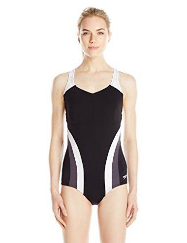 Speedo Women's Flow One Piece Fitness Active Swimsuit