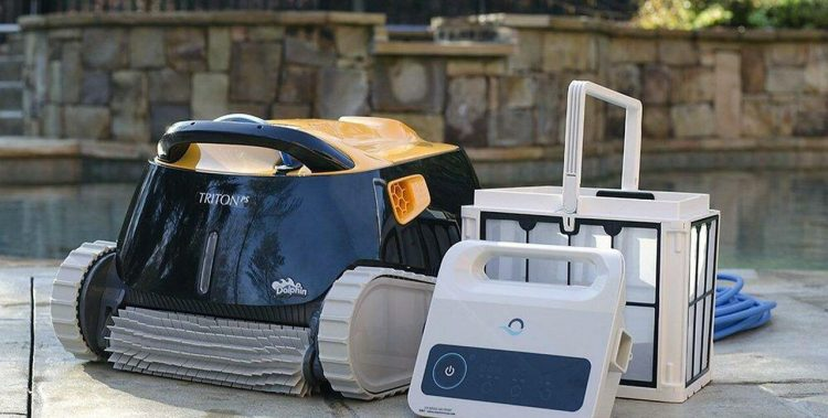 Top Best Maytronics Dolphin Triton Plus Robotic Pool Cleaner Review Guide For 2021-2022