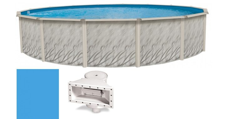 Best 24-Foot x 52-Inch Round MEADOWS Above Ground Steel Wall Swimming Pool Review Guide For 2021-2022