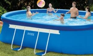 Top Best Intex 18ft X 10ft X 42in Oval Frame Pool Set Review Guide For 2021-2022